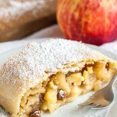 Air Fryer Salmon | Plated Cravings Apple Recipes, Cake Recipes, Dessert Recipes, Apfelstrudel Recipe, German Apple Strudel Recipe, Strudel Recipes, Austrian Recipes, German Recipes, Pumpkin Pancakes