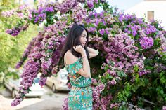 OUTFIT POST: Late summer bloom. Shot in Dubrovnik with Canon Australia.    See more on: http://www.kisforkani.com/2015/09/late-summer-bloom/