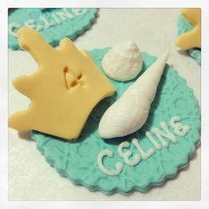 Little Mermaid Cupcake Toppers - Kakes by Kristi