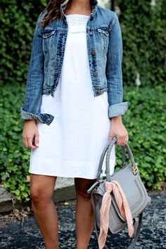 jillgg's good life (for less) | a west michigan style blog: my everyday style: little white dress!
