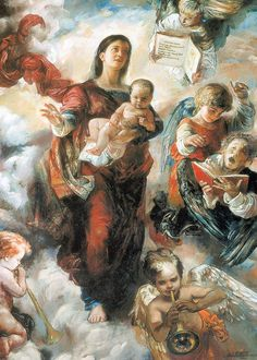 Our Lady of Light (the Luminous Mysteries), Natalia Tsarkova. She is the Vatican's official portrait painter.