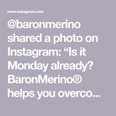 """@baronmerino shared a photo on Instagram: """"Is it Monday already? BaronMerino® helps you overcome your worst office fears like running late for an important meeting. What are the…"""" • Jun 22, 2020 at 11:00am UTC Running Late, Jun, Instagram"""