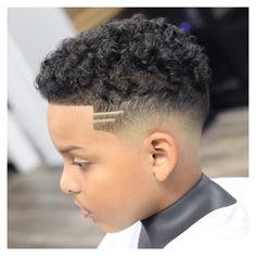 Fade Haircut Curly Hair, Boys Fade Haircut, Boys Haircut Styles, Baby Haircut, Curly Hair Cuts, Curly Hair Styles, Boys Curly Haircuts Kids, Mixed Boys Haircuts, Kids Hairstyles Boys