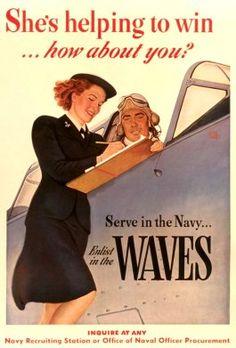 Reichslieder_US Navy WAVES Propaganda Posters