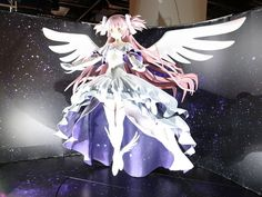 Life-size Homura and 2-meter Goddess Madoka statue to be displayed in the Tokyo Observatory - http://sgcafe.com/2013/10/life-size-homura-2-meter-goddess-madoka-statue-displayed-tokyo-observatory/