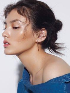 Kim Yong Ji by Jung Ki Rock for Singles Korea Aug 2016 http://eroticwadewisdom.tumblr.com/post/157382861187/hairstyle-ideas-hair-styling-ideas-with-braids