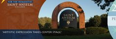 The Dana Center at St. Anselm College hosts a variety of performances throughout the school year.