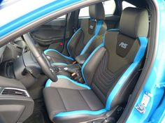 2017 ford focus rs interior seat section