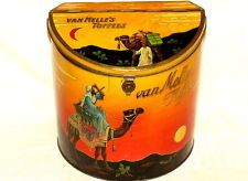 Van Melle Arab on Camel Candy Toffee Shop Display Tin 1920