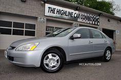 2005 Honda Accord Sdn LX LX AT  Satin Silver Metallic Waterbury Connecticut STOCK#:5219 #honda #jdm #usedcars #usedcarsforsale #ctcars