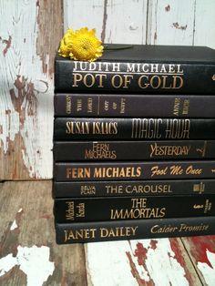 Black Book BundleBlack BooksHome Staging by beachbabyblues on Etsy, $16.00