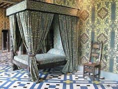 Queen's bedroom, Chateau Blois