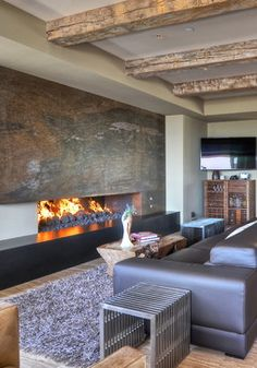 interior design orange county - Marble fireplaces, ontemporary family rooms and Fireplaces on ...