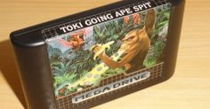 "Toki Going Ape Spit"" - Mega Drive - R$ 150. No Museu do Videogame"