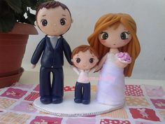 cake topper sposi fimo sorcinangel@hotmail.it