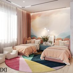 Cool Room Designs, Kids Bedroom Designs, Bedroom Decor For Teen Girls, Room Design Bedroom, Bedroom Furniture Design, Room Ideas Bedroom, Home Room Design, Home Decor Bedroom, Home Living Room