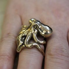 house greyjoy (I know it's an octopus, but this ring is gorgeous...)