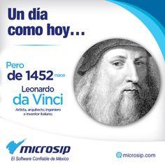 Un día como hoy, 15 de abril, pero de 1452 nace Leonardo da Vinci, artista, arquitecto, ingeniero e inventor italiano.
