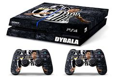 Skin PS4 WhiteP HD DYBALA ULTRAS JUVENTUS limited edition Playstation 4 COVER DECAL