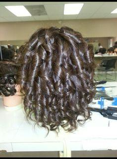 Mannequin spiral curls Spiral Curls, Perm, Dreadlocks, Long Hair Styles, Beauty, Beleza, Dreads, Perming Hair Style, Long Hair Hairdos