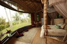 Maui Retreat, first bamboo structures in U.S., luxury bedrooms, kitchen &a private outdoor showers.