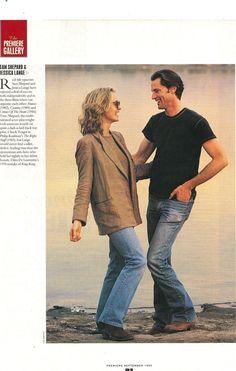 Jessica Lange and Sam Shepard