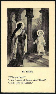 Image result for i am jesus of teresa