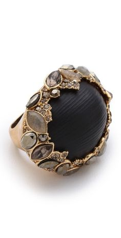 Alexis Bittar >> Neo Bohemian Marquis Vine Ring