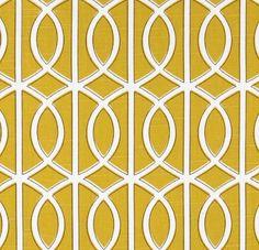 Items similar to Two x Custom Curtain Panels- Robert Allen - Dwell Studio - Bella Porte Citrine on Etsy Pillow Fabric, Curtain Fabric, Panel Curtains, Curtain Panels, Chair Fabric, Cushion Fabric, Window Panels, Lumbar Pillow, Pillow Cases