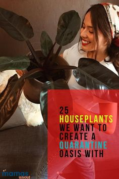 What's the best quarantine hobby? Tending to your glorious houseplants, of course. We've rounded up 25 to transform your home into an oasis. #houseplants #Indoorplants #Hobby