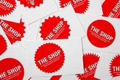 Studio Ten and a Half • Portfolio • The Shop ● Identity for a photography studio and creative space based in a converted shop.