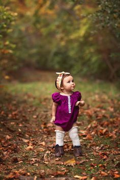 Baby Romper Fall Baby Clothes Baby Girl Newborn Baby Fall Romper Thanksgiving Toddler Girls Bubble R Little Kid Fashion, Toddler Fashion, Kids Fashion, Fashion Clothes, Fashion Fall, Toddler Girl Pictures, Toddler Girl Style, Toddler Girls, Fall Baby Pictures
