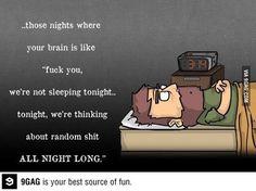 Scumbag brain always trolls you!