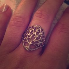 Silpada tree of life ring  Sterling silver tree of life ring. Offers welcome. New condition. Very comfortable. Silpada Jewelry Rings