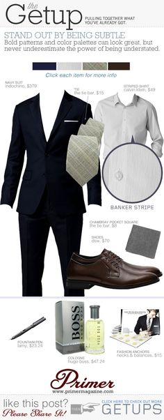The Getup: Stand Out By Being Subtle - Primer