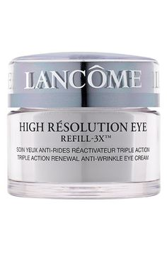Lancôme 'High Résolution Refill-3X™' Triple Action Renewal Anti-Wrinkle Eye Cream available at #Nordstrom