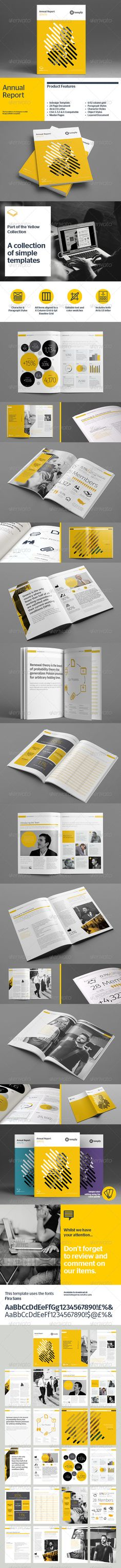 Annual Report Template Corporate Brochure Template by Temp-ly. Design Brochure, Brochure Layout, Brochure Template, Design Resume, Stationery Design, Corporate Brochure, Web Design, Layout Design, Graphic Design