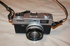 VINTAGE Canon Canonet QL19 Rangefinder with SE 45mm f/1.9 Lens original strap #Canon