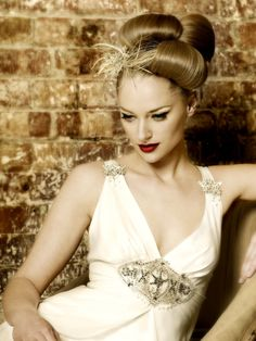 Beautiful updo / upstyle - Bridal Collection #hairstyle #wedding #bridal