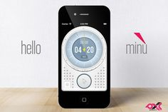 Minu Timer ($0.00) The most essential, functional (and beautiful) timer for your smartphone.  Features:  ▨ Human UI - Setting a Timer and start the Countdown requires only 2 taps from launch  ▨ Timer / Stopwatch   ▨ Pause Timer  ▨ Stylish Interface