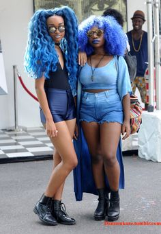 OMG LOOK AT THESE ADORABLE LITTLE CUPCAKES! Afropunk 2015 Day 1 Photographer: Damion Reid Instagram: BOTBW2013