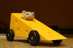Pinewood derby cars, Derby cars