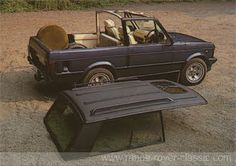 Merlin Automotive Ltd - UK - Range Rover Classic. One of the few Range Rover convertibles that doesn't look ridiculous.
