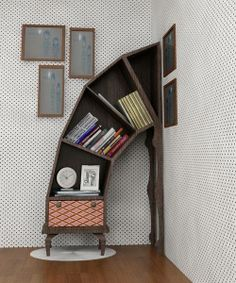 Cool book shelf!