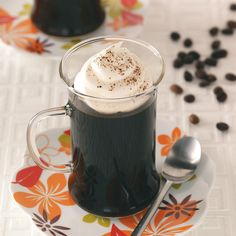 Cool Coffee Gels Recipe -If you love coffee, you'll love this recipe. It's a simple dessert to prepare and makes a great impression. —Lily Julow, Lawrenceville, Georgia