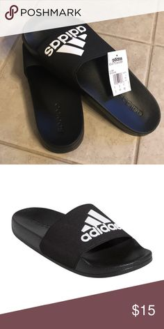1c9c1ca6b9bc Adidas Adilette shower slides Adidas Adilette shower slides men s size 12  New with tags and box