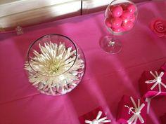 Pink Bridal Shower decoration