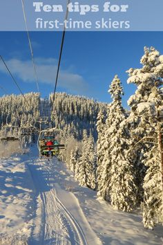 My top ten tips for newbie skiers who are planning their first trip  |  www.cooksister.com #ski #skiing