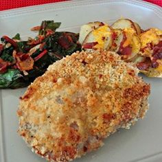 """Easy Oven-Fried Pork Chops 