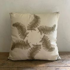 Lauren Leiss, Boho Pillows, Throw Pillows, Fern Frond, Jack Johnson, Wood Bridge, Star Designs, Ferns, Line Drawing